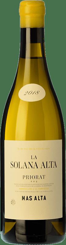 45,95 € Envío gratis | Vino blanco Mas Alta La Solana Alta D.O.Ca. Priorat Cataluña España Garnacha Blanca Botella 75 cl