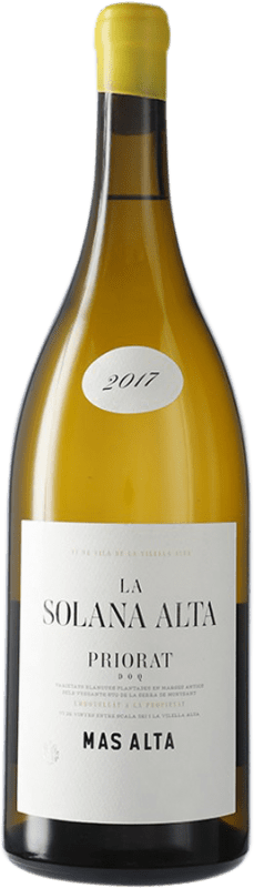 103,95 € Envío gratis | Vino blanco Mas Alta La Solana Alta D.O.Ca. Priorat Cataluña España Garnacha Blanca Botella Mágnum 1,5 L
