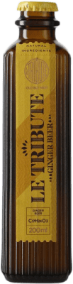 2,95 € Free Shipping | Refreshment MG Le Tribute Ginger Beer Spain Small Bottle 20 cl