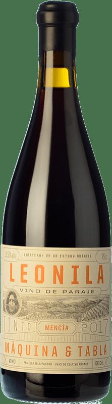 21,95 € Envío gratis | Vino tinto Máquina & Tabla Leonila D.O. Bierzo Castilla y León España Mencía Botella 75 cl