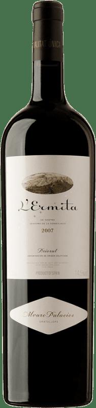 4 669,95 € Free Shipping | Red wine Álvaro Palacios L'Ermita 2007 D.O.Ca. Priorat Catalonia Spain Grenache, Cabernet Sauvignon Jéroboam Bottle-Double Magnum 3 L