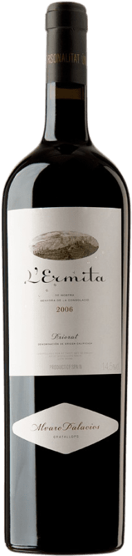 4 669,95 € Free Shipping | Red wine Álvaro Palacios L'Ermita 2006 D.O.Ca. Priorat Catalonia Spain Grenache, Cabernet Sauvignon Jéroboam Bottle-Double Magnum 3 L