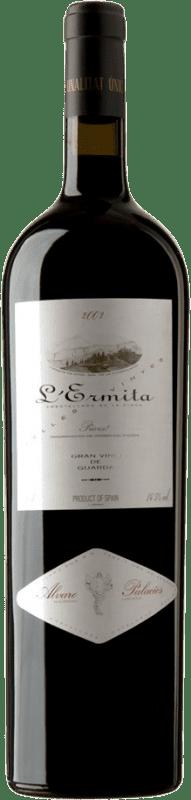 9 298,95 € Free Shipping | Red wine Álvaro Palacios L'Ermita 2002 D.O.Ca. Priorat Catalonia Spain Grenache, Cabernet Sauvignon Special Bottle 5 L