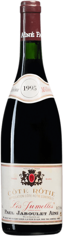 91,95 € Free Shipping | Red wine Jaboulet Aîné Les Jumelles 1995 A.O.C. Côte-Rôtie France Syrah Bottle 75 cl