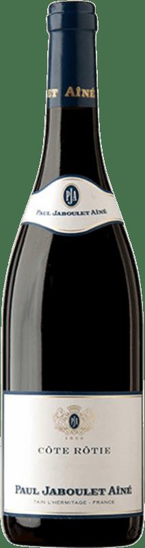 79,95 € Envío gratis | Vino tinto Jaboulet Aîné Les Pierrelles A.O.C. Côte-Rôtie Francia Syrah Botella 75 cl