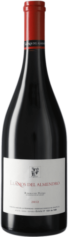 144,95 € Envío gratis | Vino tinto Dominio de Atauta Llanos del Almendro D.O. Ribera del Duero Castilla y León España Botella 75 cl