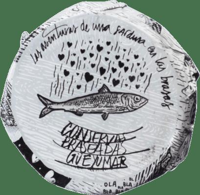 11,95 € 免费送货 | Conservas de Pescado Güeyu Mar Lomos de Sardina 阿斯图里亚斯公国 西班牙
