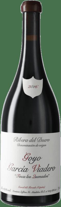 21,95 € | Red wine García Viadero Los Quemados D.O. Ribera del Duero Castilla y León Spain Tempranillo, Albillo Bottle 75 cl
