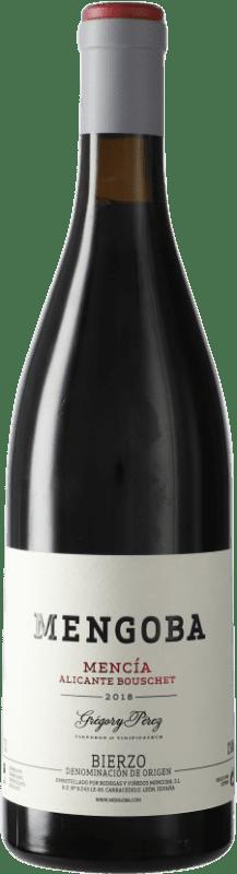 15,95 € Envío gratis | Vino tinto Mengoba D.O. Bierzo Castilla y León España Botella 75 cl