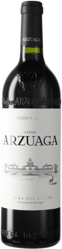 39,95 € Envío gratis | Vino tinto Arzuaga Reserva D.O. Ribera del Duero Castilla y León España Botella 75 cl