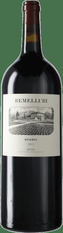 54,95 € Envío gratis | Vino tinto Ntra. Sra de Remelluri Reserva D.O.Ca. Rioja España Tempranillo, Garnacha, Graciano, Mazuelo, Viura Botella Mágnum 1,5 L