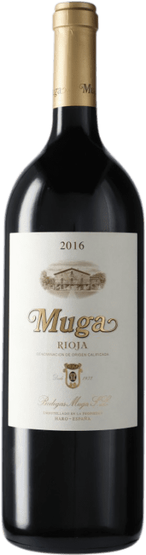 35,95 € Envoi gratuit | Vin rouge Muga Crianza D.O.Ca. Rioja Espagne Bouteille Magnum 1,5 L