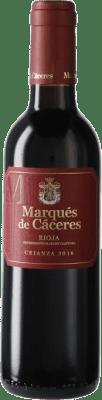 6,95 € 免费送货 | 红酒 Marqués de Cáceres Crianza D.O.Ca. Rioja 西班牙 半瓶 37 cl