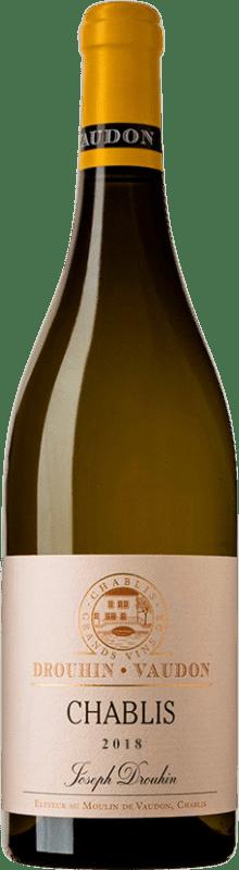 26,95 €   White wine Drouhin A.O.C. Chablis Burgundy France Chardonnay Bottle 75 cl