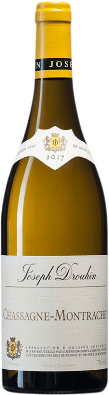 59,95 € Free Shipping | White wine Drouhin A.O.C. Chassagne-Montrachet Burgundy France Chardonnay Bottle 75 cl