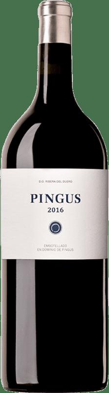 13 901,95 € Envoi gratuit | Vin rouge Dominio de Pingus D.O. Ribera del Duero Castille et Leon Espagne Tempranillo Bouteille Impériale-Mathusalem 6 L