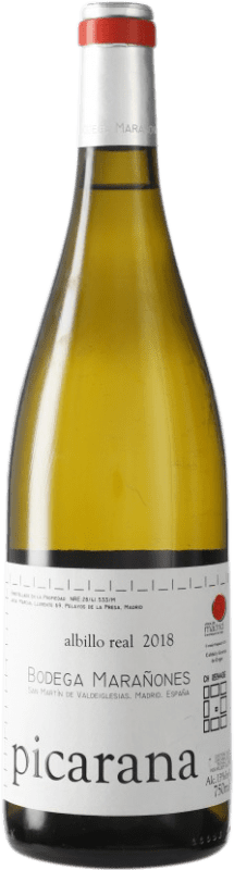 16,95 € | White wine Marañones D.O. Vinos de Madrid Madrid's community Spain Picardan Bottle 75 cl