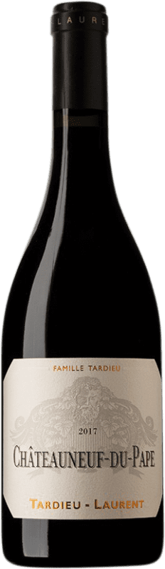 66,95 € Free Shipping | Red wine Tardieu-Laurent A.O.C. Châteauneuf-du-Pape France Syrah, Grenache, Mourvèdre Bottle 75 cl