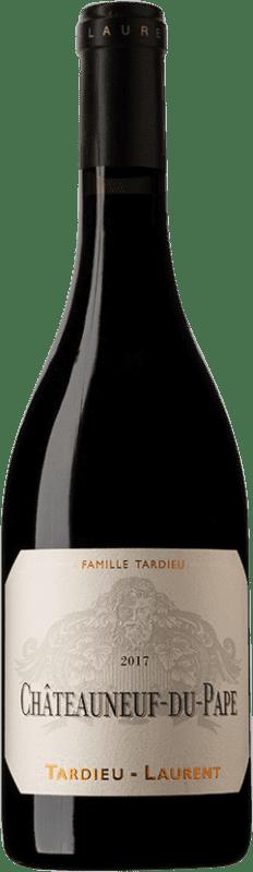 66,95 € Envoi gratuit | Vin rouge Tardieu-Laurent A.O.C. Châteauneuf-du-Pape France Syrah, Grenache, Mourvèdre Bouteille 75 cl
