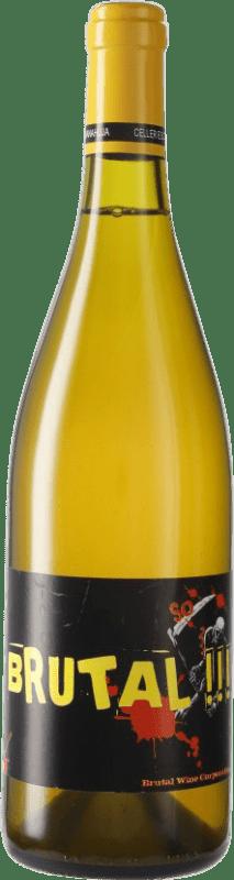 18,95 € Envío gratis | Vino blanco Escoda Sanahuja Brut D.O. Conca de Barberà Cataluña España Botella 75 cl