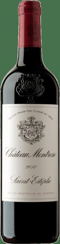 134,95 € Envío gratis | Vino tinto Château Montrose A.O.C. Saint-Estèphe Burdeos Francia Merlot, Cabernet Sauvignon, Cabernet Franc, Petit Verdot Botella 75 cl