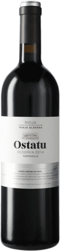 17,95 € 免费送货 | 红酒 Ostatu Reserva D.O.Ca. Rioja 西班牙 Tempranillo 瓶子 75 cl