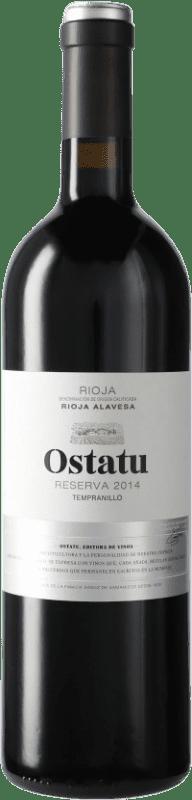 17,95 € Envío gratis   Vino tinto Ostatu Reserva D.O.Ca. Rioja España Tempranillo Botella 75 cl
