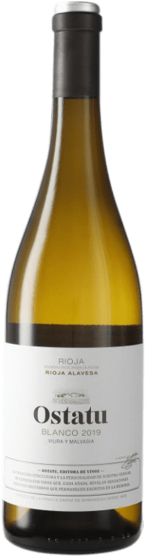 6,95 € | White wine Ostatu D.O.Ca. Rioja Spain Tempranillo Bottle 75 cl