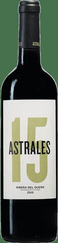 26,95 € Free Shipping | Red wine Astrales D.O. Ribera del Duero Castilla y León Spain Tempranillo Bottle 75 cl