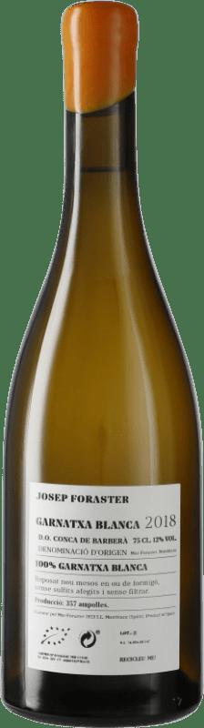 16,95 € Free Shipping | White wine Josep Foraster D.O. Conca de Barberà Catalonia Spain Grenache White Bottle 75 cl