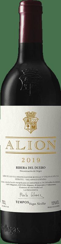 189,95 € Free Shipping | Red wine Alión D.O. Ribera del Duero Castilla y León Spain Tempranillo Magnum Bottle 1,5 L
