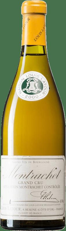 431,95 € Envío gratis | Vino blanco Louis Latour 2000 A.O.C. Montrachet Borgoña Francia Chardonnay Botella 75 cl