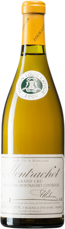 431,95 € Free Shipping | White wine Louis Latour 2000 A.O.C. Montrachet Burgundy France Chardonnay Bottle 75 cl