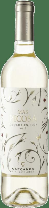 7,95 € Envío gratis | Vino blanco Capçanes Mas Picosa Blanc Ecològic D.O. Catalunya Cataluña España Botella 75 cl