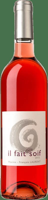 12,95 € Free Shipping | Rosé wine Domaine Gramenon Maxime-François Laurent Il Fait Très Soif A.O.C. Côtes du Rhône France Syrah, Grenache, Cinsault Bottle 75 cl
