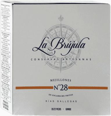 17,95 € | Conservas de Marisco La Brújula Mejillones Spain 20/25 Pieces