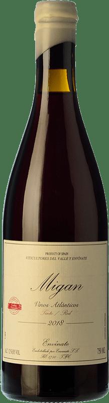 28,95 € Free Shipping | Red wine Envínate Migan Canary Islands Spain Listán Black, Malvasia Black, Vijariego Black Bottle 75 cl