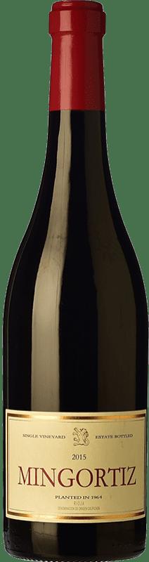 41,95 € Envío gratis | Vino tinto Allende Mingortiz D.O.Ca. Rioja España Tempranillo Botella 75 cl