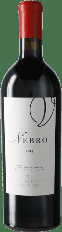 141,95 € 免费送货 | 红酒 Finca Villacreces Nebro D.O. Ribera del Duero 卡斯蒂利亚莱昂 西班牙 Tempranillo 瓶子 75 cl