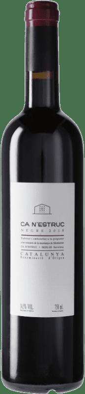 4,95 € Envoi gratuit | Vin rouge Ca N'Estruc Negre D.O. Catalunya Catalogne Espagne Tempranillo, Syrah, Grenache Bouteille 75 cl