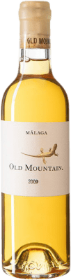 138,95 € Envío gratis | Vino blanco Telmo Rodríguez Old Mountain 2009 D.O. Sierras de Málaga España Moscatel de Alejandría Media Botella 37 cl