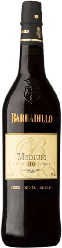 115,95 € Free Shipping | Fortified wine Barbadillo Oloroso Medium V.O.R.S. Very Old Rare Sherry D.O. Jerez-Xérès-Sherry Andalusia Spain Palomino Fino, Pedro Ximénez Bottle 75 cl