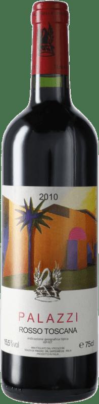183,95 € Free Shipping | Red wine Tenuta di Trinoro Palazzi 2010 I.G.T. Toscana Italy Merlot Bottle 75 cl