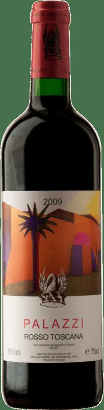218,95 € Free Shipping | Red wine Tenuta di Trinoro Palazzi 2009 I.G.T. Toscana Italy Merlot Bottle 75 cl