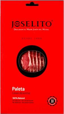 14,95 € | Jamones Joselito Paleta 100% Natural Gran Reserva Spain