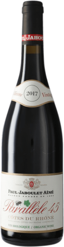 9,95 € Free Shipping | Red wine Jaboulet Aîné Parallèle 45 A.O.C. Côtes du Rhône France Syrah, Grenache Bottle 75 cl