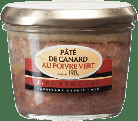 5,95 € | Foie y Patés J. Barthouil Pâté au Poivre Vert France