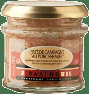 3,95 € Free Shipping | Foie y Patés J. Barthouil Paté de Campagne au Porc Fermier France