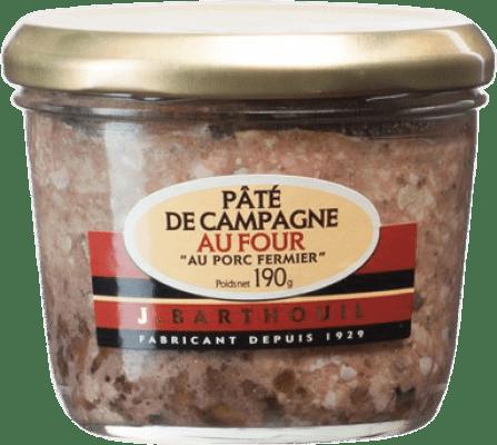 5,95 € | Foie y Patés J. Barthouil Pâté de Campagne au Porc France