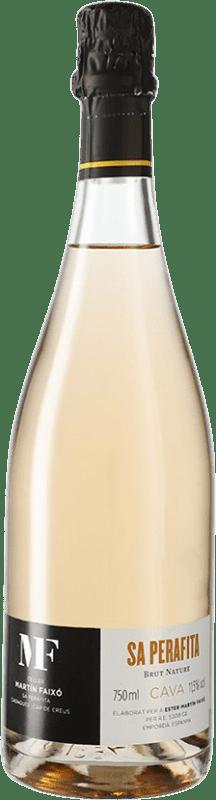 18,95 € 免费送货 | 玫瑰气泡酒 Martín Faixó Perafita Rosat Brut Nature D.O. Cava 西班牙 瓶子 75 cl
